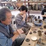 鈴木黄弌先生の手びねりの授業